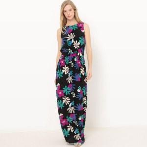 8fffadacfd3 Платье La Redoute Длинное без рукавов с рисунком