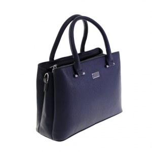 b75c6faf4c99 Стильная женская сумочка Lefol_Under из эко-кожи цвета темного индиго.