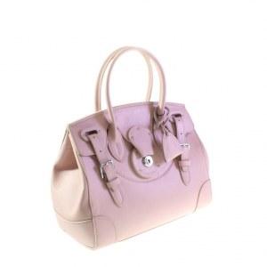 2fb288e87ed4 Эффектная женская сумочка Ralph_Find из плотной натуральной кожи цвета  розовой пудры.
