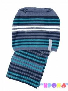 b1eafb9761977 Комплект шапка+шарф для мальчика Quest