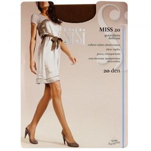 93983fd29ef9 Колготки SISI Miss 20ден Daino / Miele / Nero р.2,3,4