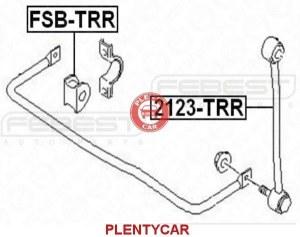 Тяга стабилизатора задняя Febest 2123-TRR Ford: 4709303