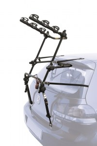 Крепление велосипеда на заднюю дверь peruzzo new hi-bike (3 вел.), чёр. цв., в кор. pz 308