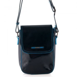 9f4c0ddd8051 Женская кожаная сумка синего цвета Dor.Flinger 8243 624 dark blue DF