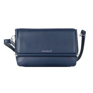 07cc857f7d1a Женская кожаная сумка синего цвета Giorgio Ferretti 0326 HD-989-34 blue GF
