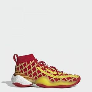 603a98ce1cc71e Кроссовки Pharrell Williams x BYW CNY adidas Originals Red / Yellow / White