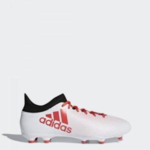 e47b98b8 Футбольные бутсы X 17.3 FG adidas Performance Ftwr White/Real Coral/Core  Black