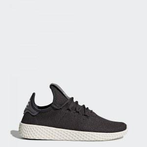 b26f7e8b Кроссовки Pharrell Williams Tennis Hu adidas Originals Carbon/Carbon/Chalk  White
