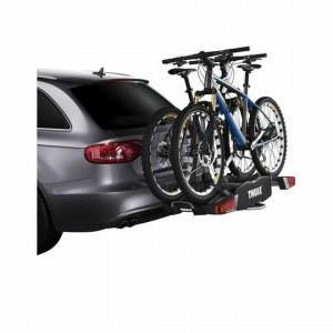 Велокрепление на фаркоп Thule EasyFold 932, для перевозки 2-х велосипедов, складывающийся