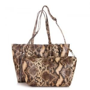 9a329ad2cf8a Женская кожаная сумка Giorgio Ferretti 32432 13A coffee GF
