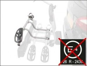 Крепление детского велосипеда дополнительное для велокреплений PERUZZO Siena
