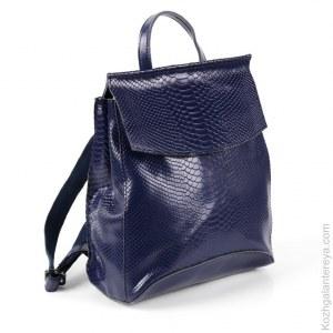 7703fa34c82a Женский кожаный рюкзак НТ-206G Блу
