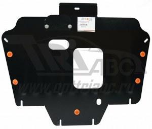 Защита картера двигателя и КПП haval h6 v-все, 2wd, 4wd, КПП-все (2020-)(сталь 2 мм) 35.873.c2