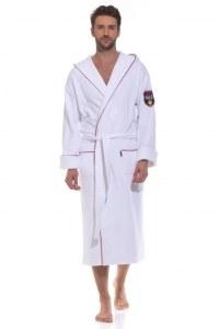 1c82afdb569ce Халат махровый мужской PÊCHE MONNAIE Ultimate Edition (PM France 932) 9341  с капюшоном,