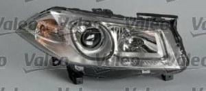 Фара левая электр. линзованная Renault Megane all 06 VALEO 043280