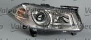 VL043280_фара левая! электр. линзованная Renault Megane all 06