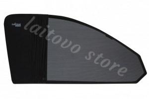 Laitovo Каркасная тонировка на передние двери LADA 21214 1G Внедорожник 3D (2001 - н.в.) Нива - с пластиковой заглушкой у зеркала заднего вида