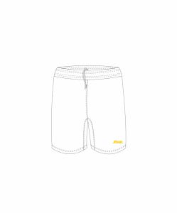 99745a7e Шорты баскетбольные Jögel Jbs-1120-014, белый/желтый размер S
