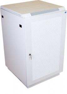 Шкаф телекоммуникационный напольный 27U (600х1000) дверь перфорированная 2 шт. ШТК-М-27.6.10-44АА
