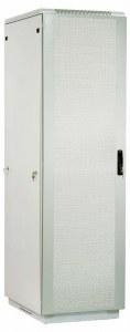 Шкаф телекоммуникационный напольный 42U (600x800) дверь перфорированная 2 шт. (3 места), ШТК-М-42.6.8-44АА