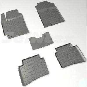 Коврики в салон резиновые с бортом стандарт Seintex для NISSAN QASHQAI II R16, 89312