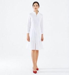 3714ffd66dd61 Одежда Женский медицинский халат ENIGMA 118014 (L, Белый)