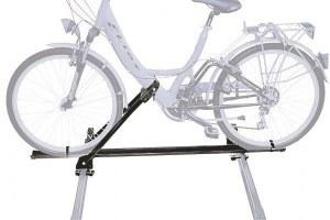 Крепление велосипеда на крышу peruzzo napoli чёрный (сталь) pz 603
