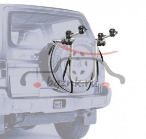 Крепление на запасное колесо Peruzzo 4X4 Bike Carrier для перевозки 2-х велосипедов