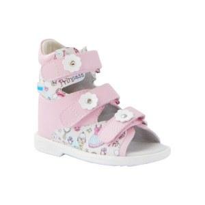d3adcfb6e Ортопедические сандалии с высоким берцем для девочек, Ortmann Kids Eger,  размер: 28