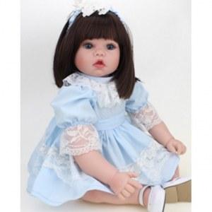 21f37e054b4 reborn Kaydora Виниловая кукла Реборн (Reborn Dolls) - Девочка в голубом  платье (51