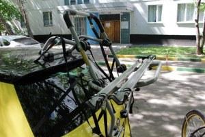 Крепление для велосипеда на заднюю дверь авто PERUZZO Padova Steel (для 2 велосипедов) (PZ 378)
