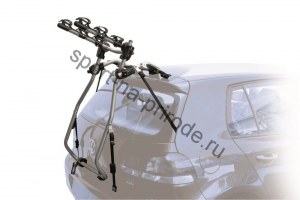 Крепление велосипеда на заднюю дверь PERUZZO Milano (3 вел.),серебр. цв., сталь