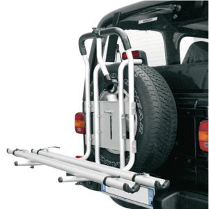 Устройство для перевозки 2-х велосипедов на запасном колесе автомобиля 4х4 PERUZZO Stelvio (PZ 373_375)