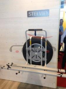 Крепление на запасное колесо Peruzzo Stelvio для перевозки 2-х велосипедов