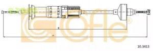 COFLE 103413 трос сцепления автомат. регулировка vw golf iii-vento all 1.8-1.9ds кроме gtdi 991-897