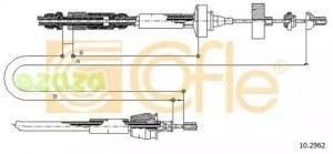 COFLE 102962 трос сцепления renault laguna all неавтомат. регулировка кроме 3.0v6 94-98