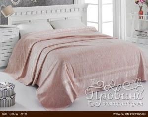 53e74f99effd Махровая простынь-одеяло-покрывало Pupilla Elit махра бамбук  светло-абрикосовый 200*220