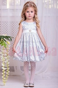3dc47d7cc3b Zironka Нарядное платье Серебряное барокко 4009-2 (86 см (18 мес))