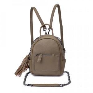 3ff9ef6f36c6 Женский рюкзак из экокожи, цвет оливковый (арт. DW-826/2)
