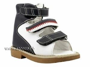 16281ff48 60331-15 Ортек (Ortek), сандалии детские открытые ортопедические с высоким  берцем,