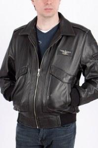 97534669fbb3 Мужская куртка черная из буйволиной кожи Феникс-2B