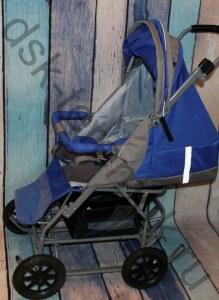 cfd13246 Санки-коляска КД-1С Вездеход (Цвет: Бежевый с желтым)