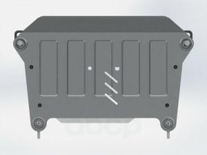 Защита картера и кпп для great wall hover h6, 2020-, , al 4 мм SHERIFF арт. 282875